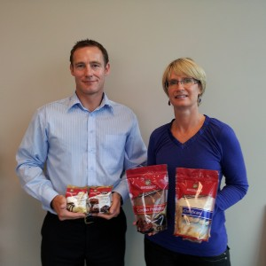 Eye-Catching Pouches Rebrand Sun Valley Foods