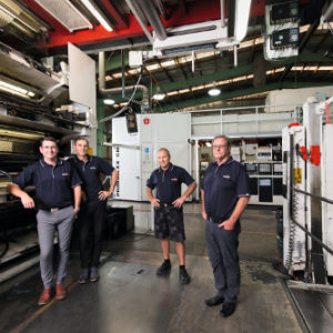 "Convex Orders New Miraflex"" C Printing Press"