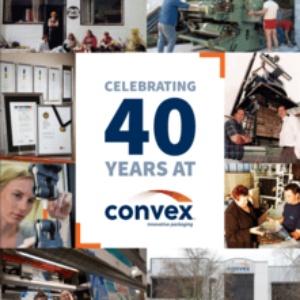 Celebrating 40 Years at Convex