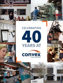 Celebrating 40 Years at Convex