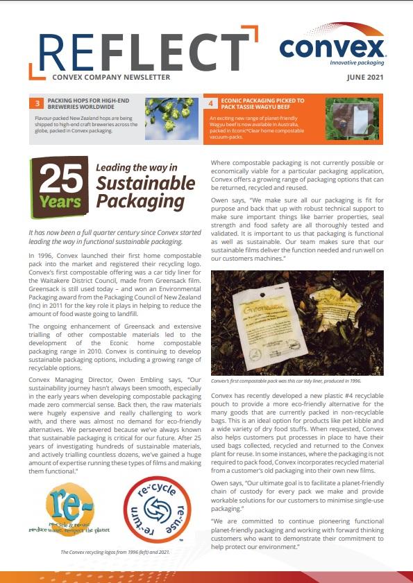 reflect newsletter